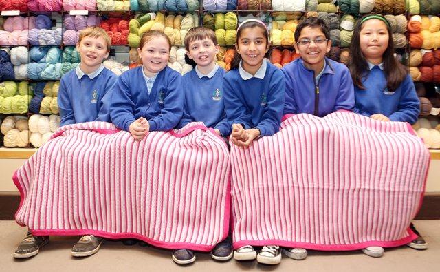Knitting Groups Glasgow : Kelvindale primary school